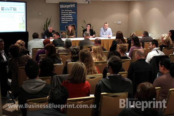 John on the Panel at Business Blueprint